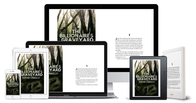 The Billionaire's Graveyard - available on all digital devices via the Kindle app
