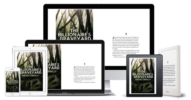 The Billionaire's Graveyard - available on all digital devices via the Kindle app