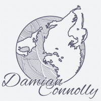 Damian Connolly logo, light