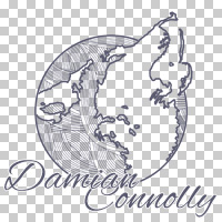 Damian Connolly logo, transparent