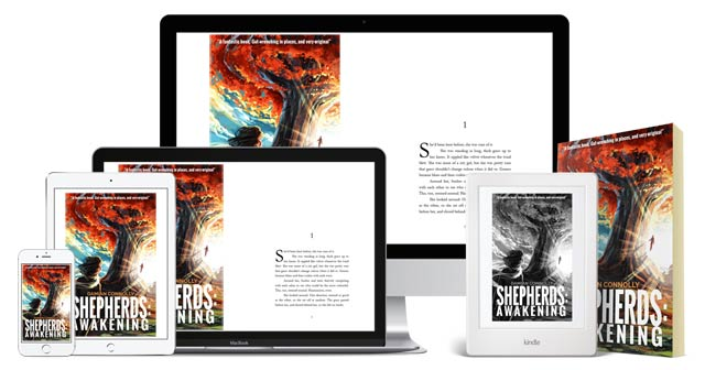 Shepherds: Awakening - available on all digital devices via the Kindle app